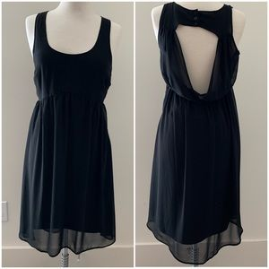 Pins and Needles Anthropologie Black Dress